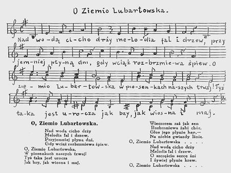 nuty hymn LUBARTOWA