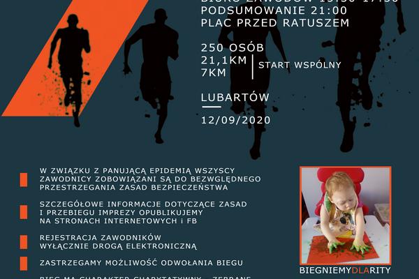 Miniaturka artykułu VII Półmaraton Lubartowski startuje 12 września