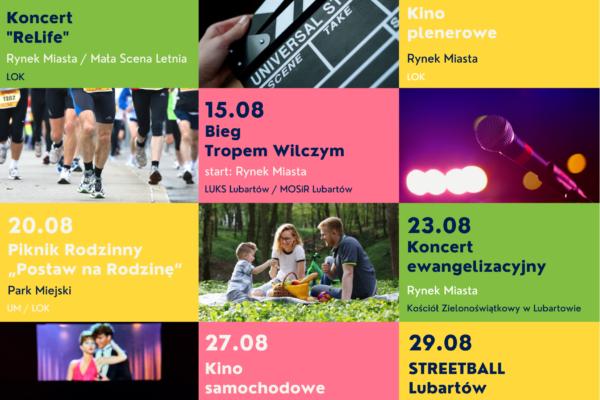Miniaturka artykułu Kalendarz wydarzeń – sierpień 2021