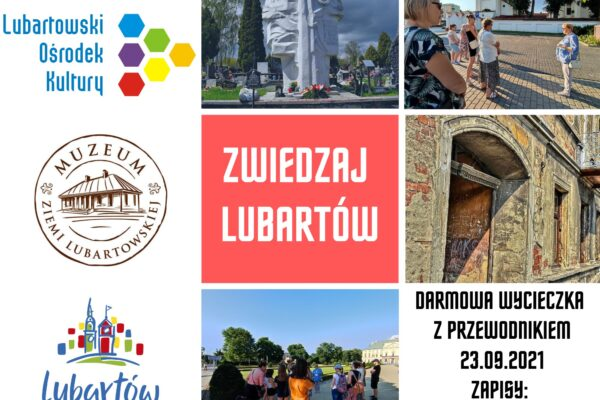 Miniaturka artykułu Zwiedzanie Lubartowa z przewodnikiem – zaproszenie